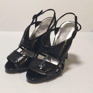 White House black market weave High heels size 9M